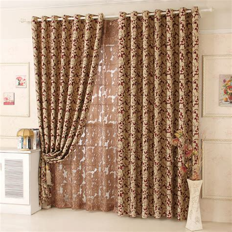 thick red curtains free shipping quality double faced thick shade cloth