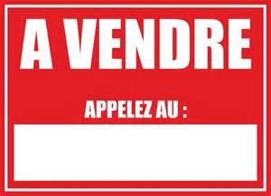 autocollant sticker panneau a vendre vinyle appartement