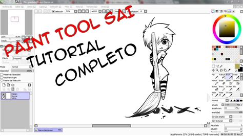 Paint Tool Sai Tutorial Completo