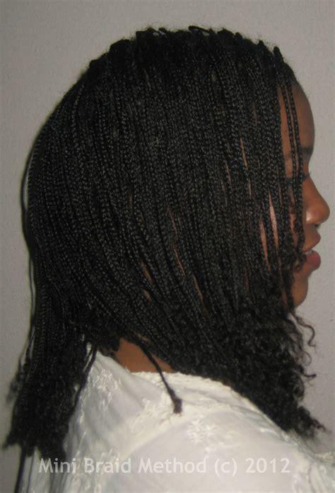 the mini braid method my mini braids a history the mini braid method