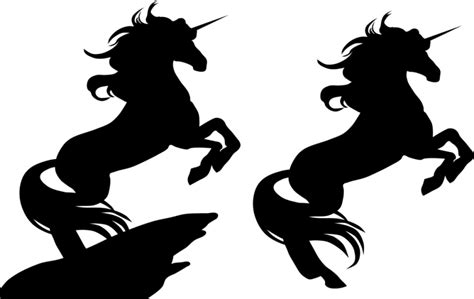 printable unicorn silhouette best unicorn silhouette 13089 clipartion com