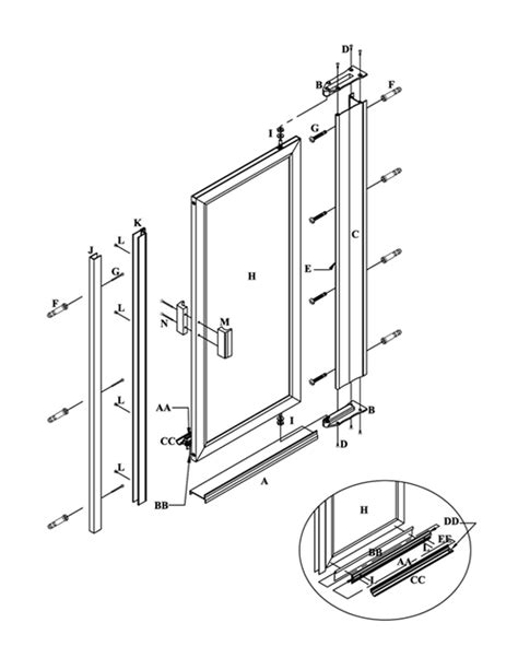 door detail pivot doors details ideas for a pivot door wall