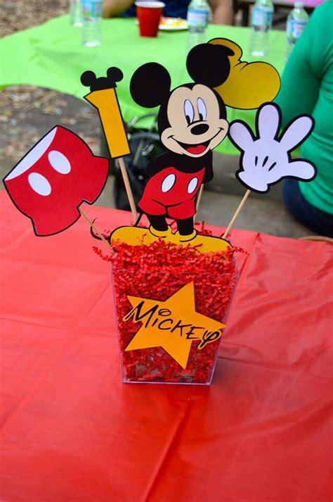best 25 mickey mouse centerpiece ideas on