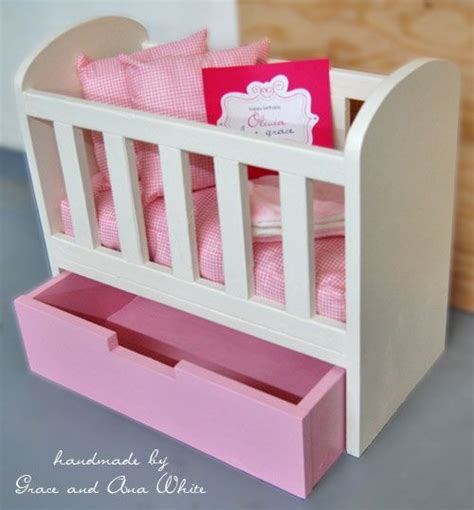 Make A Baby Crib How To Make A Baby Crib For A Doll Woodworking Projects Plans