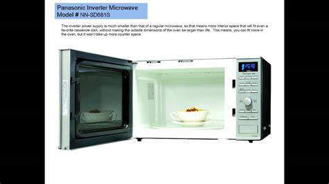 Microwave Panasonic Nn Sd681s panasonic inverter microwave oven model nn sd681s a