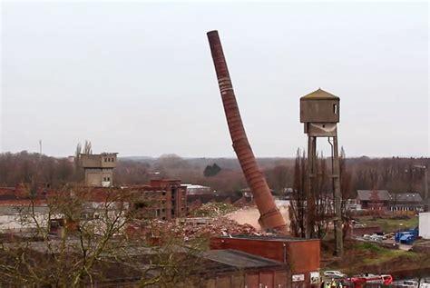kamin der baumwollspinnerei gronau gesprengt rottenplaces de - Kamin Gronau