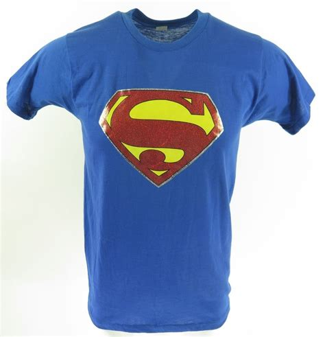 T Shirt Superman Is Dead Musicsr vintage 70s superman t shirt mens l deadstock dc comics soft thin 50 50 usa made the clothing