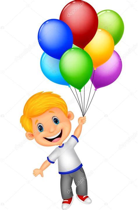 imagenes de niños jugando con globos ni 241 o volando con globos vector de stock 169 tigatelu 44727577