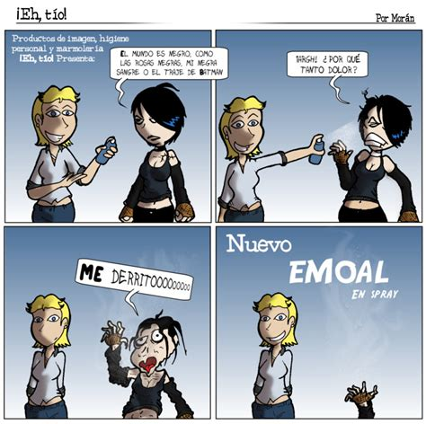 imagenes de los emo webcomic 161 eh t 237 o la pesadilla de los emos