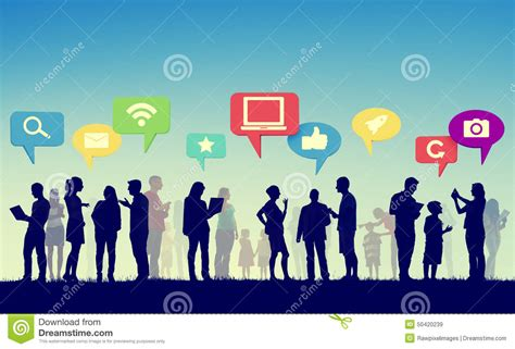 Foto Communitys Kostenlos by Community Business Team Digital Communication Concept