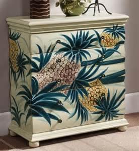 hawaiian decor for home pineapple dresser the hawaiian home