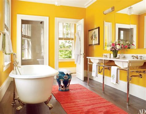 bathroom colors ideas pictures architectural digest s 15 bathroom colors 2016 ideas