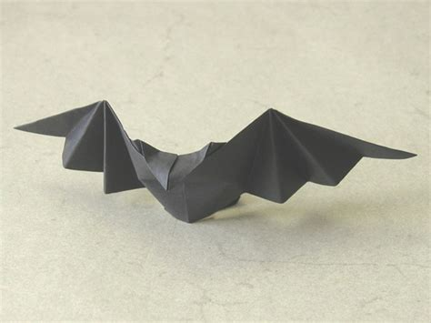 Easy Bat Origami - patty bat talo kawasaki happy folding