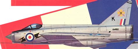 english electric lightning great britain 111 sqn raf lightning wings palette