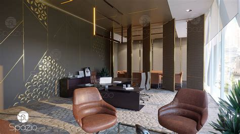 leading office interior design companies in dubai spazio