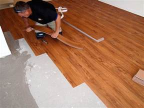 Installing Vinyl Plank Flooring On Concrete How To Install Lay Vinyl Flooring Tile Wizards