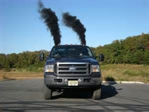 conservatives purposely cars spew black smoke