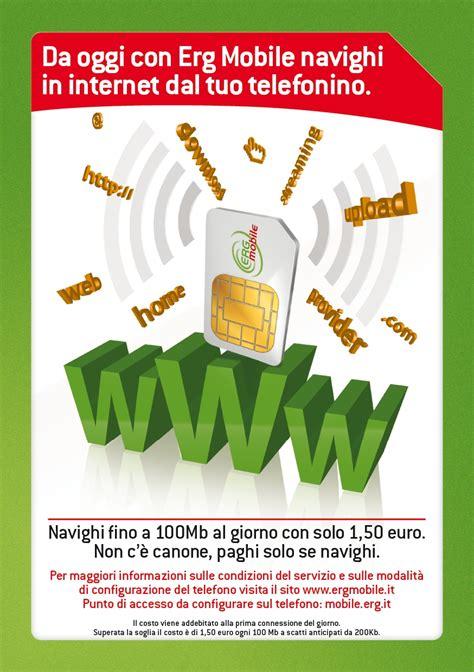 tariffe erg mobile arriva per erg mobile mondo3