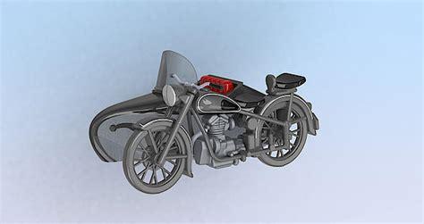Awo Motorrad Mit Beiwagen by Kres 1 87 Awo 425t Motorrad Mit Beiwagen Ebay