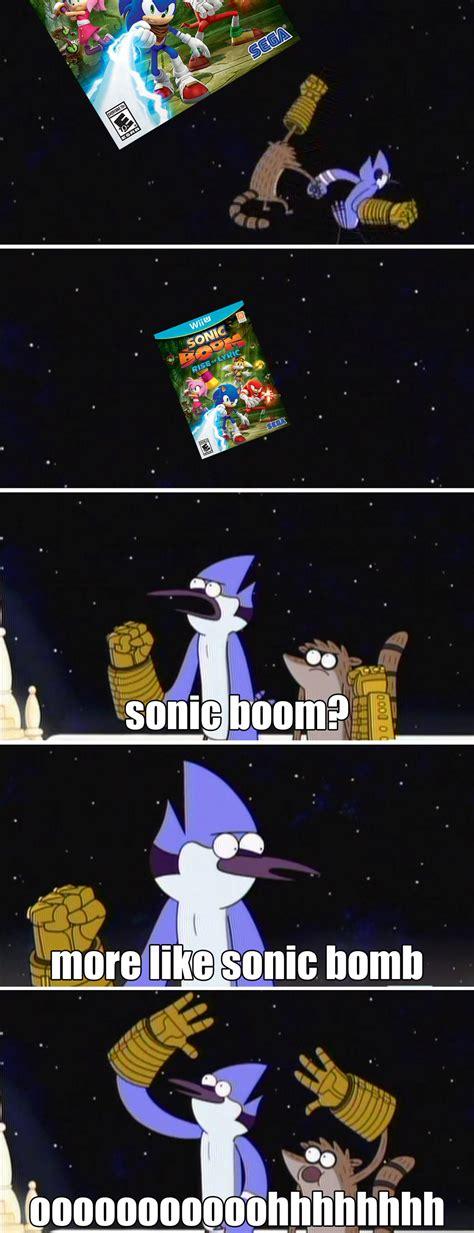 sonic boom meme sonic boom meme by dor20 on deviantart