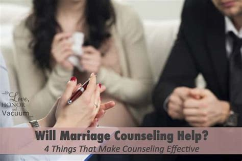 What do marriage counselors do