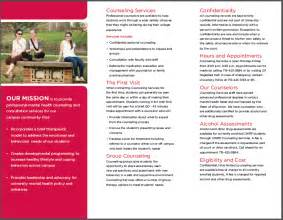 counseling brochure template doc 700434 services brochure business services