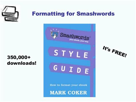 format ebook smashwords library presentation 2015 ebook publishing