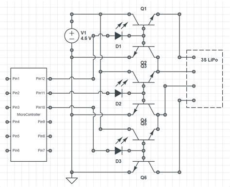 lipo battery charger circuit diagram lipo charging a 12 6v 3slipo from 5v usb or similar
