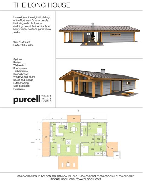 longhouse floor plans purcell timber frames the precrafted home company the
