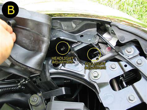 DIY Headlight and Foglight Adjustment   MyG37
