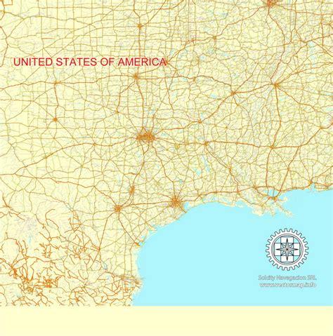 usa map ai map usa canada roads ai e5