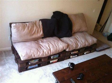 pallet couch cushion ideas top 104 unique diy pallet sofa ideas