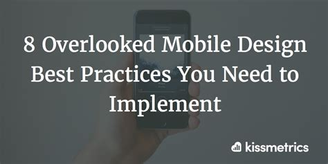 typography best practices 8 overlooked mobile design best practices you need to implement