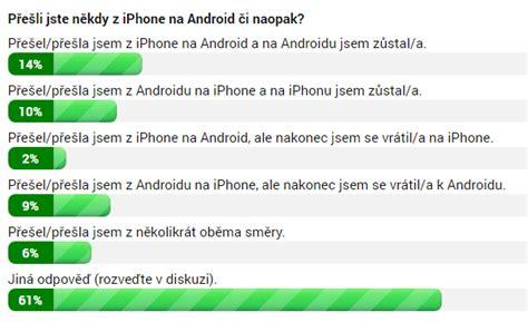 Z Iphone Na Android by Přešli Jste Někdy Z Iphone Na Android či Naopak V 237 Kendov 225 Hlasovačka
