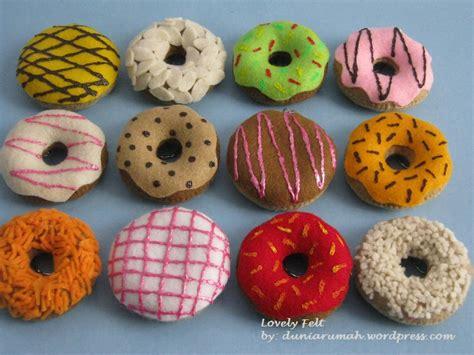 Topping Donat Flanel Lembaran 1 warna rumah cake ideas and designs