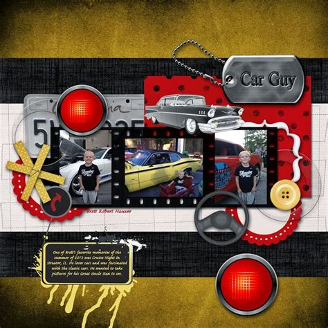 scrapbook layout new car 45 best scrapbooking classic cars images on pinterest