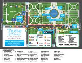 Grant Park Chicago Map by Weekend A Jenda July 7th July 10th Wls Am 890 Wls Am