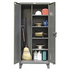 Janitorial Storage Cabinet Strong Hold Janitorial Storage Cabinet Welded 12 Ga Storage Cabinets 3thr5 46 Bc 244