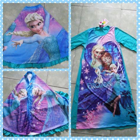 Baju Gamis Frozen jual frozen gamis frozen baju muslim frozen gamis anak lala vito shop