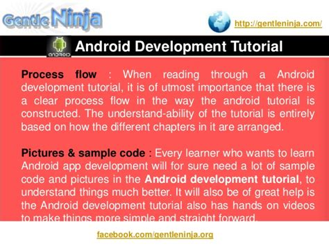 android development tutorial android development tutorial for beginners
