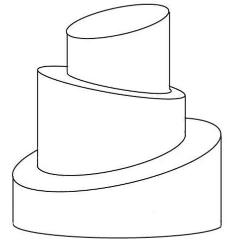 template for cake 3 tier topsy turvy template topsy turvy design templates