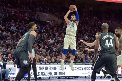 Perfect At Vanilla Observations From Sixers 121 Nets 95