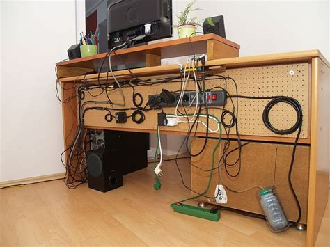 computer desk cable management interesting cable management desk ideas for josh pinterest