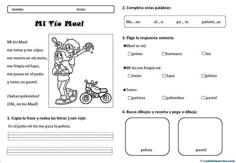 preguntas ingles niños lectura 3 actividades web del maestro