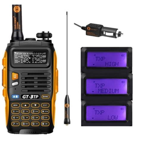 Baofeng Gt 3tp Dual Band by Baofeng Gt 3tp Iii Dual Band Uhf Vhf Two Way Radio