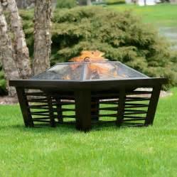 lowes wood burning pits pleasant hearth hudson wood burning pit lowe s canada