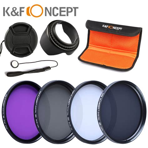 Uv Cpl Nd4 Filter Softcase Lens For Canon 1 Set 58mm cpl uv fld nd4 58mm circular polarizer protector filter kit flower lens for canon 600d