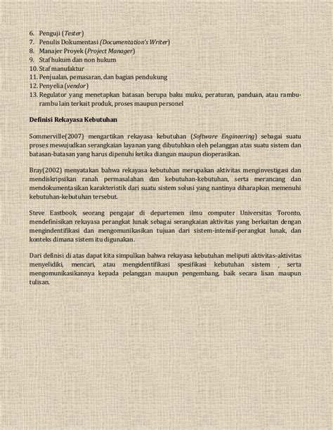 Buku Rekayasa Sistem Manufaktur resume buku rekayasa perangkat lunak daniel siahaan