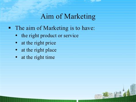 Of Marketing Mba by Approaches To Marketing Mba Ppt