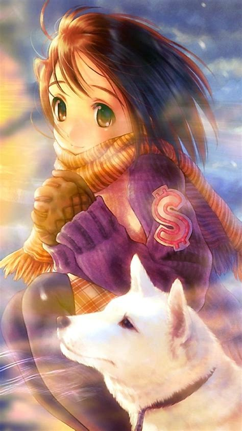 wallpaper anime for samsung wolf princess tap to see more anime iphone hd wallpapers